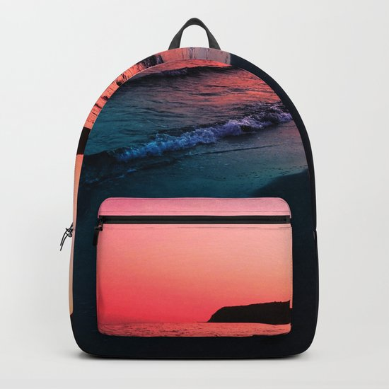 A bold Sunset Backpack
