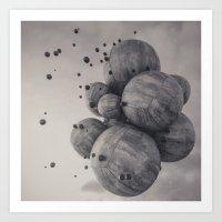 1% - Concrete  Art Print