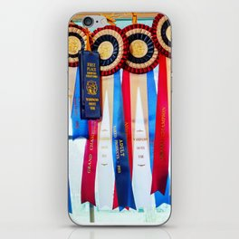 Fair Ribbons - Grand Champion Reserve Champion First Place iPhone Skin