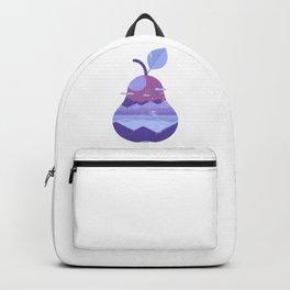 Vintage Panorama Pear Backpack
