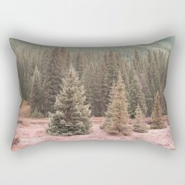 Look For Me In The Trees Rectangular Pillow