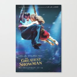 The Greatest Show Dance Canvas Print