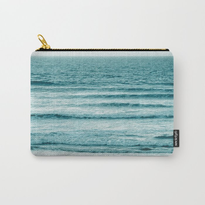 Ocean Ripples Carry-All Pouch