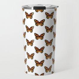 Monarch Butterfly Pattern | Vintage Butterfly Pattern | Travel Mug