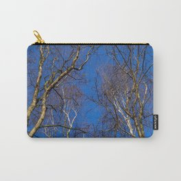 Winter Silver Birch Carry-All Pouch