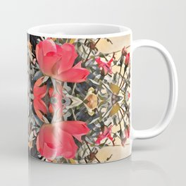 orange to rose ombre, roses in motion Coffee Mug