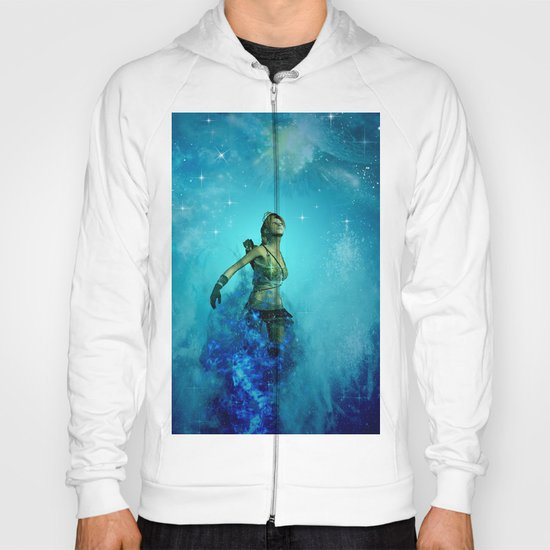 Fighter in the universe Hoody