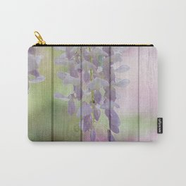 Rustic Wisteria Carry-All Pouch