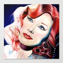 Tori Amos Painting Canvas Print