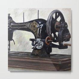 The machine Metal Print