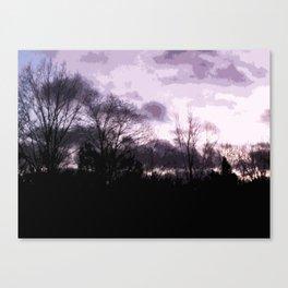 Sky;lines Canvas Print