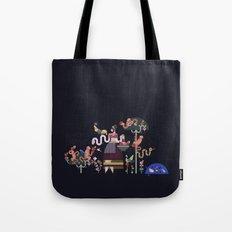 Monkeys and fruits Tote Bag