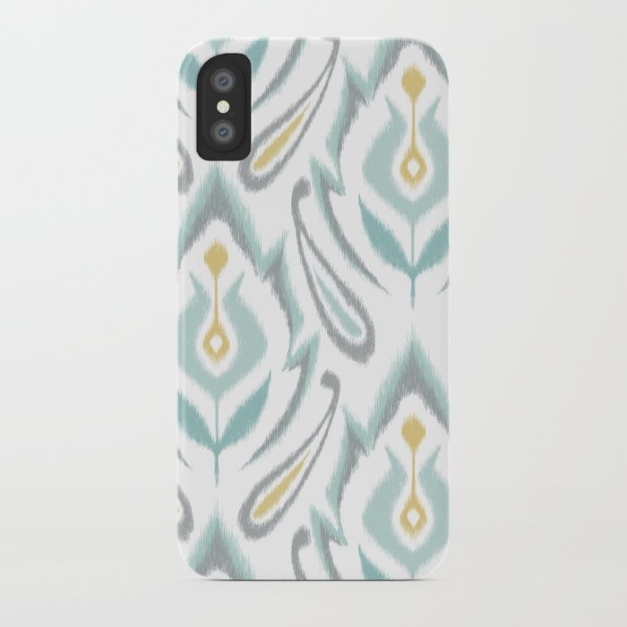 Soft Ikat iPhone Case
