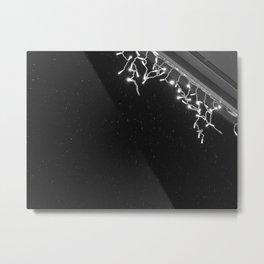 Winter lights Metal Print