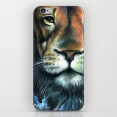 Lion in the Clouds iPhone & iPod Skin