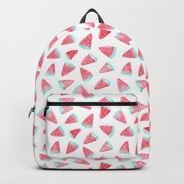 Watermelon watercolor pattern Backpack
