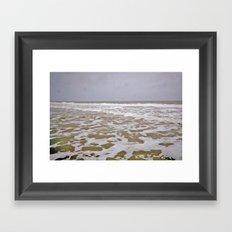 Angry Seas Framed Art Print