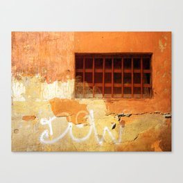 Sunset in Italy Canvas Print
