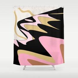 Snake Hill Shower Curtain