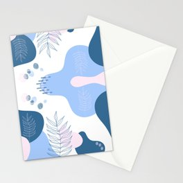 Pastel Pop in Navy Stationery Cards