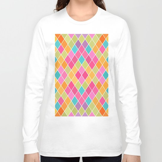 Lovely geometric Pattern VIII Long Sleeve T-shirt