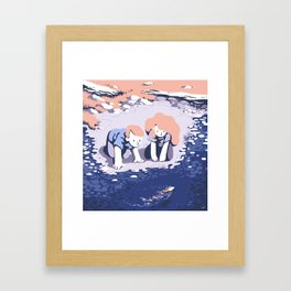 By the pound Framed Art Print