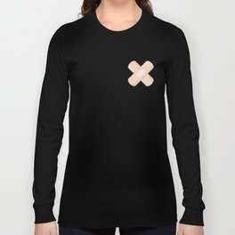 Get Well Bandaid Long Sleeve T-shirt