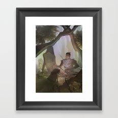 The Morgens Framed Art Print