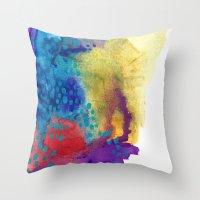 shield Throw Pillows featuring Shield by Jessalin Beutler