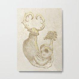 """ Nature's Life Cycle "" Metal Print"