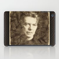 bowie iPad Cases featuring Bowie by Little Bunny Sunshine
