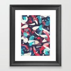 Molecular Framed Art Print