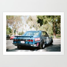 Nissan Skyline  Art Print