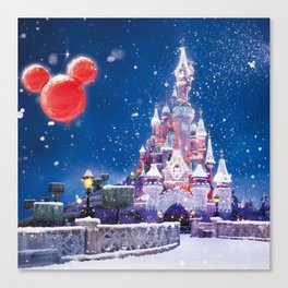 Winter fairy tale Canvas Print