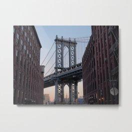 Manhattan Bridge 35mm Metal Print