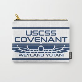 USCSS Covenant - Weyland Yutani - with border Carry-All Pouch