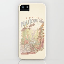 Adventure National Parks iPhone Case