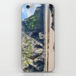 Watergate Bay - Cliff Face iPhone Skin