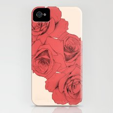 Tattoo Rose | Floral  Slim Case iPhone (4, 4s)