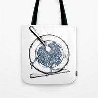 pasta Tote Bags featuring Pasta!! by EGARCIGU