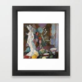 Henri Matisse - Nature morte à la statuette  Framed Art Print