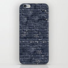 Black Brick Wall iPhone & iPod Skin