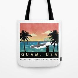 Guam - Submarine Homeport Tote Bag