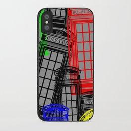 BUSY LINE Technicolour iPhone Case