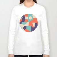 rush Long Sleeve T-shirts featuring No Rush by Wilmer Murillo