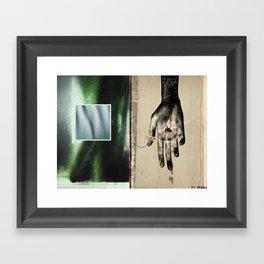 ego sum martiris Framed Art Print