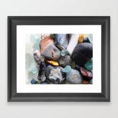 Seaglass Framed Art Print