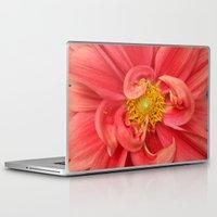 dahlia Laptop & iPad Skins featuring Dahlia by KunstFabrik_StaticMovement Manu Jobst