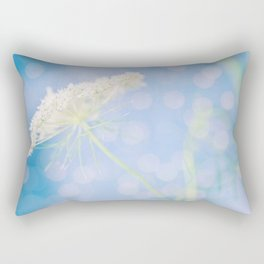 Dreamy Queen Annes Lace Rectangular Pillow