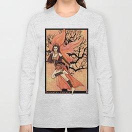 Fairy, Autumn Dance Long Sleeve T-shirt